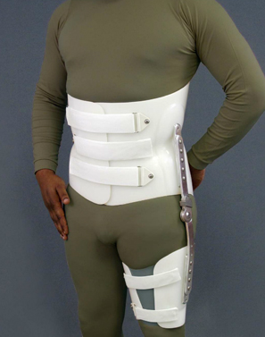 Orthosis with HIP Joint and Thigh Cuff
