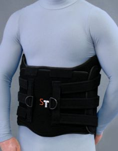 SpinaLoc Orthosis front view